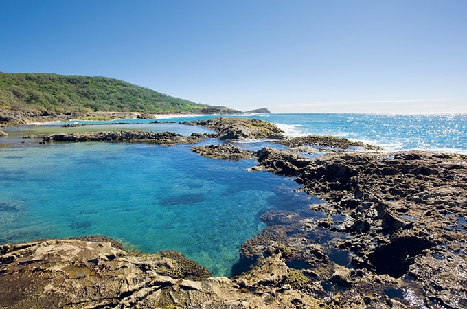Champagne Pools - Queensland