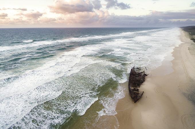 Shipwrecks, Fraser Island
