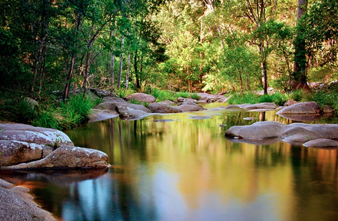 Mothar Mountain Rock Pools  - Queensland