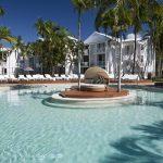 Inside the new Oaks Resort Port Douglas