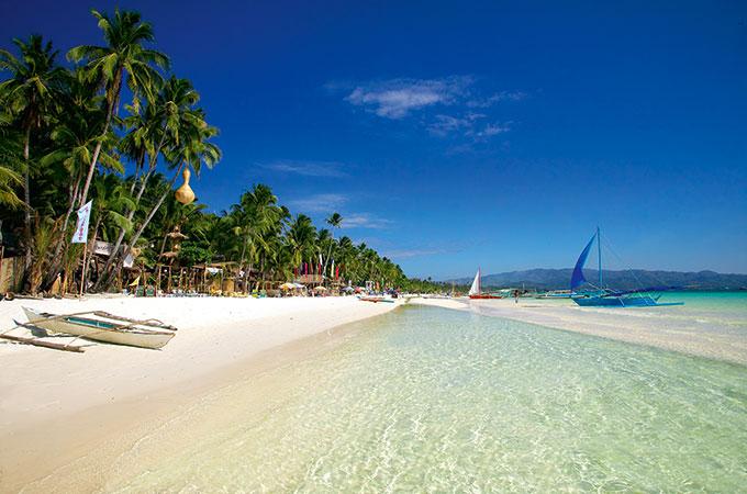 Boracay Island Beach, Philippines
