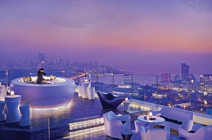 Aer Four Seasons Mumbai, rooftop bars