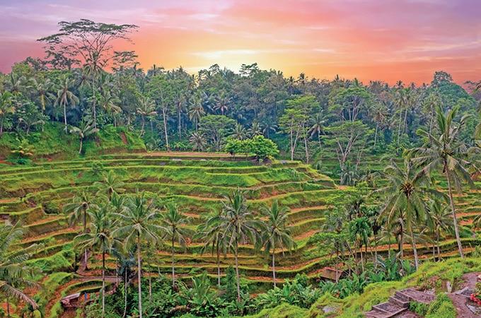 Bali - romantic destinations 2018