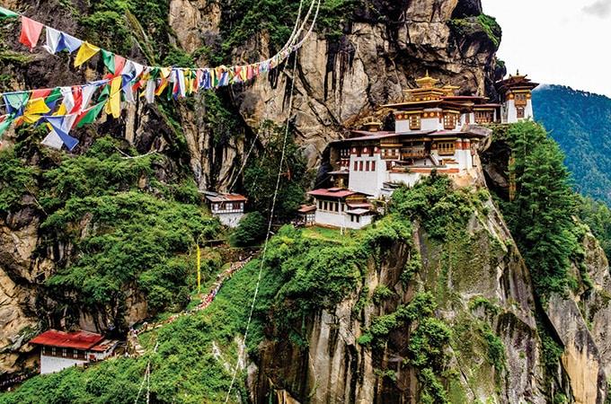 Bhutan - romantic destinations 2018