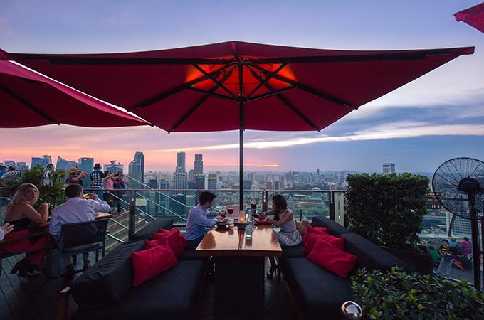 SkyBar, Ce La Vie, rooftop bars