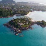 A private island escape in Koh Samui