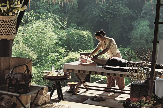 Four Seasons tented camp golden triangle - Thailand spa