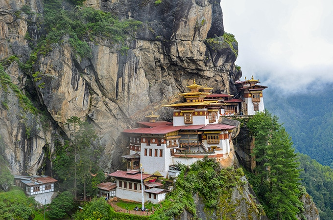 Paro Taktsang - asian temples