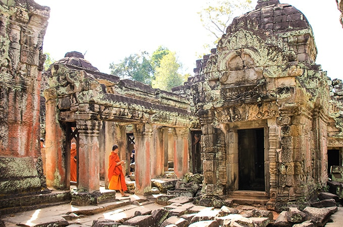Angkor Wat - asian temples