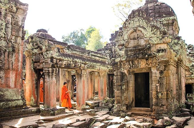 Angkor Wat - asian temples