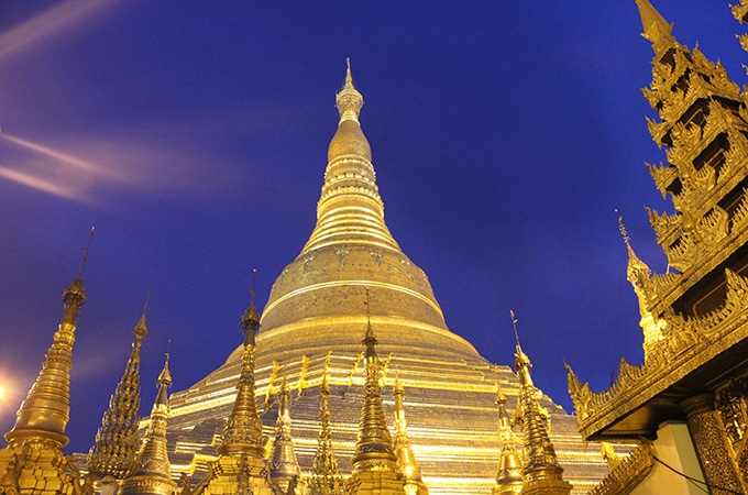 Shwedagon Pagoda - asian temples