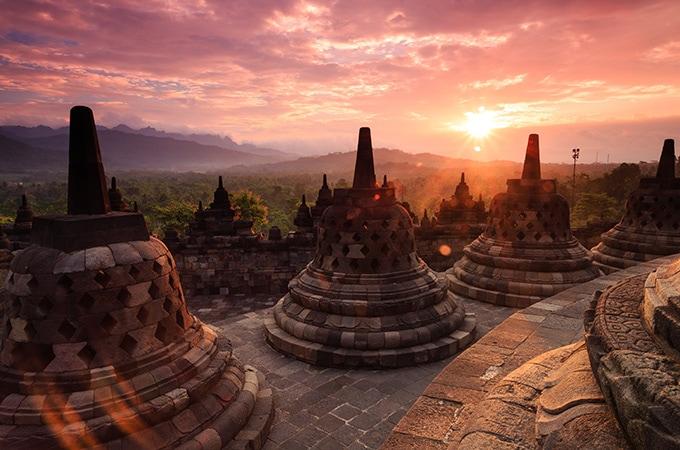 Borobudur Temple - asian temples