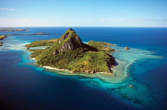 Fiji - romantic destinations 2018