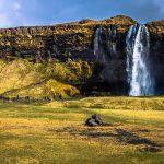 Braving Iceland's wild waterfalls and black-sand beaches