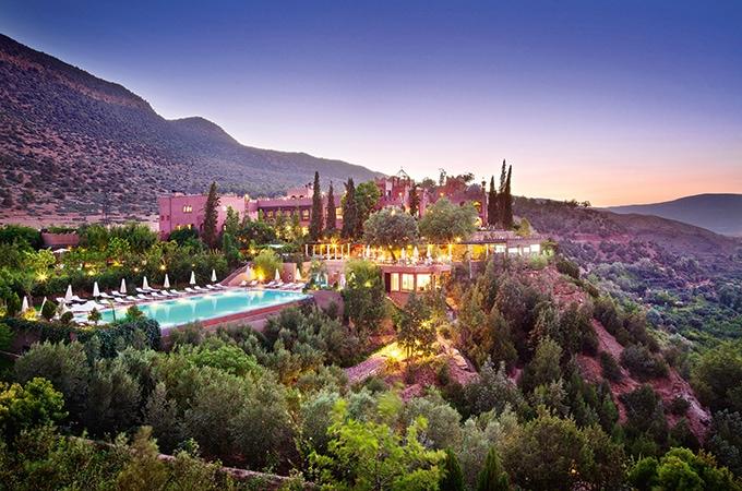 Kasbah Tamadot - celeb hotels