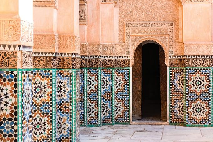 Marrakech - romantic destinations 2018