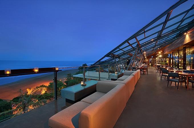 Moonlite Kitchen and Bar,  Anantara Seminyak, rooftop bars