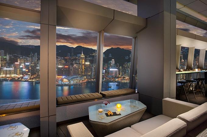 OZONE, Hong Kong Ritz Carlton, rooftop bars