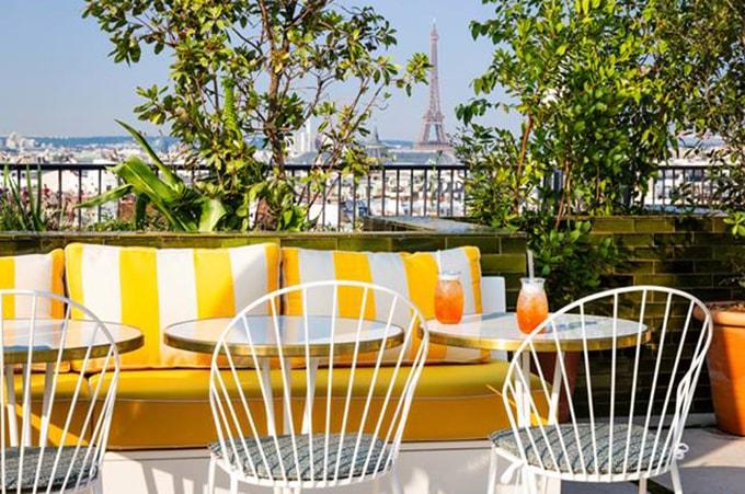 rooftop bar, france