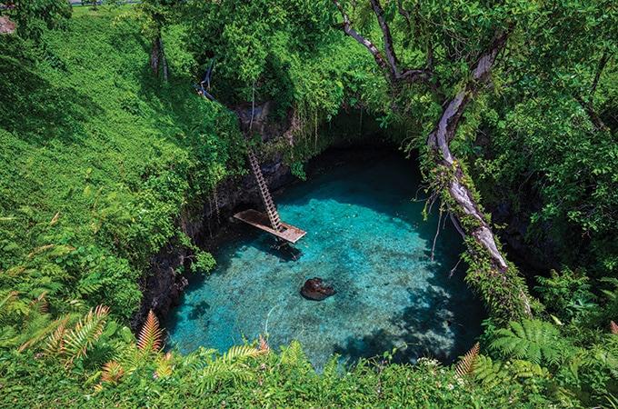 Samoa - romantic destinations 2018