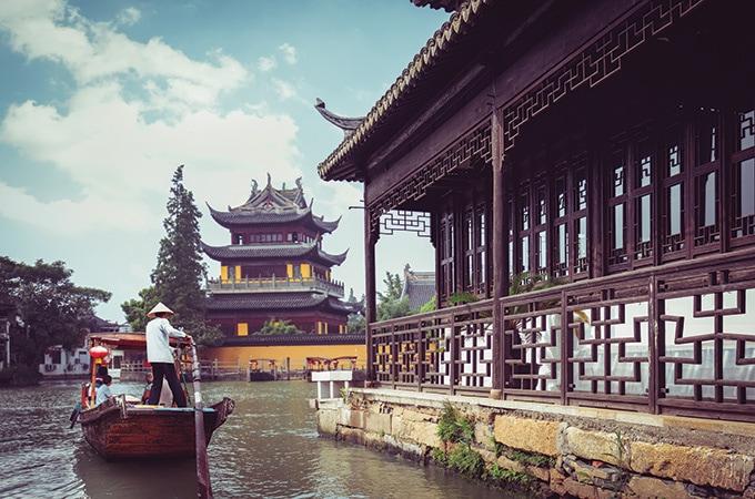 Shanghai - romantic destinations 2018