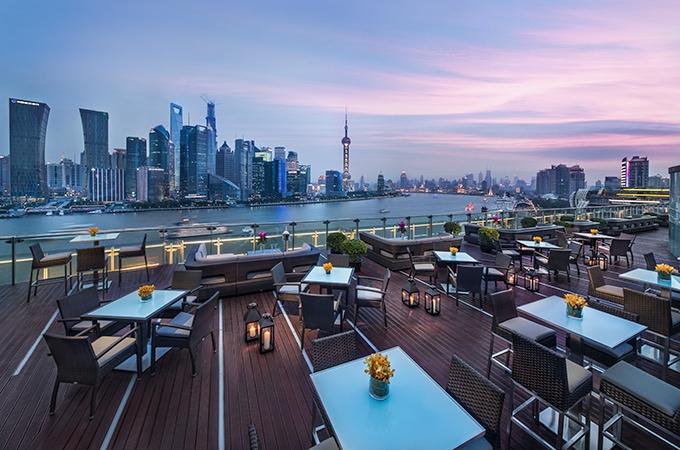 TOPS, Banyan Tree Shanghai ont he Bund, rooftop bars