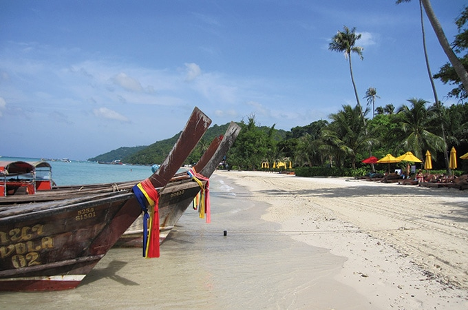 Thailand - romantic destinations 2018