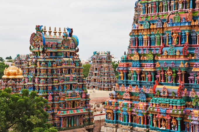 Meenakshi Temple - asian temples