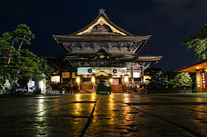 Zenkoji Temple - asian temples