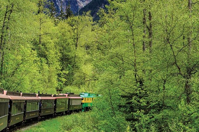 Scenic Railway of the World, Alaska