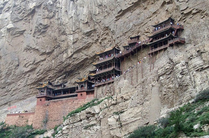 The hanging monastery - asian temples