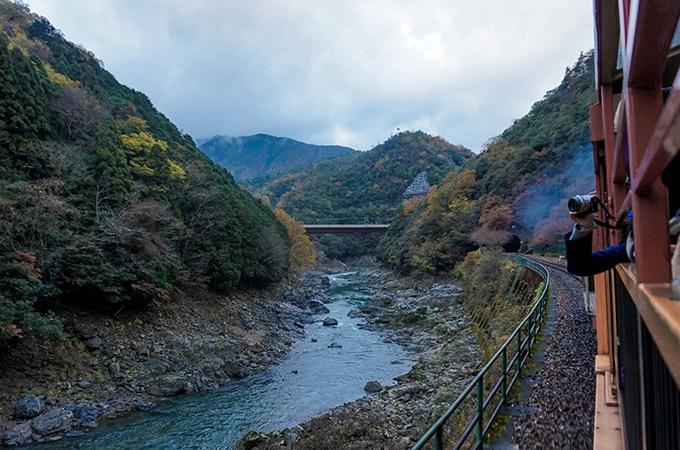 The Sagano Romantic Train - Kyoto