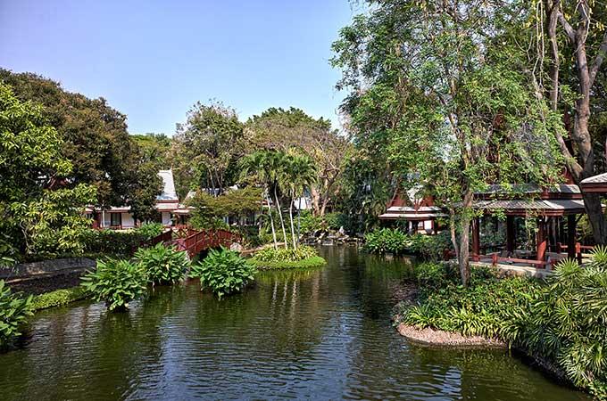 Chiva Som Thai Pavilion Lake view