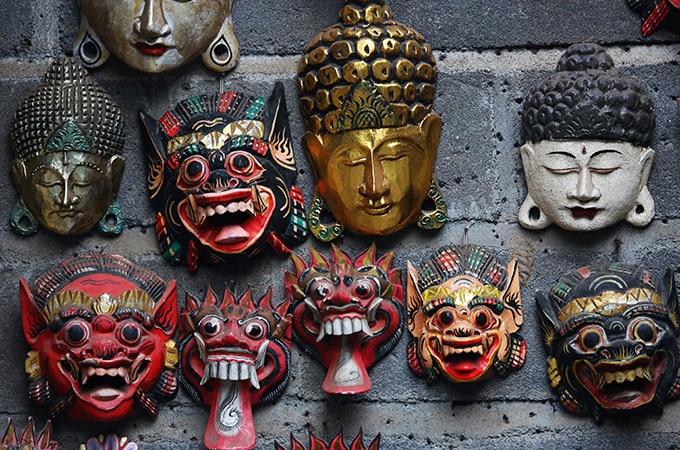 Pick up a souvenir when you visit Bali's vibrant markets