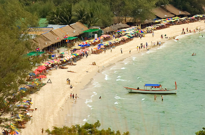 Soak up the sunshine and good vibes at these Cambodian beaches