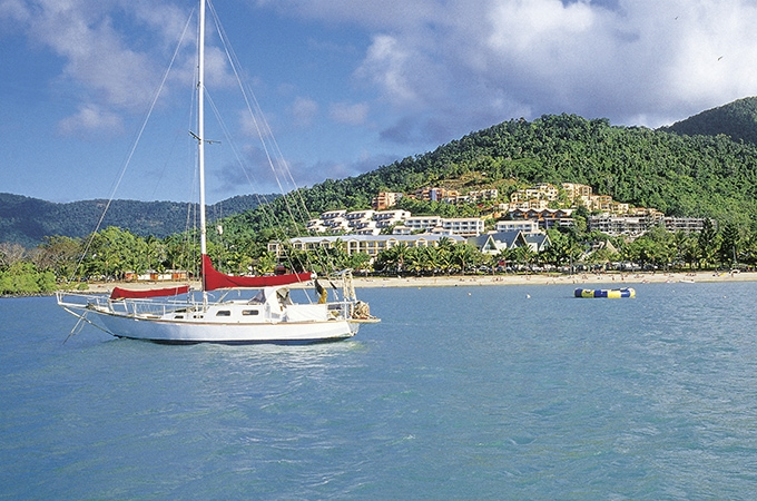 Sailing the Whitsundays is a definite bucket-list item