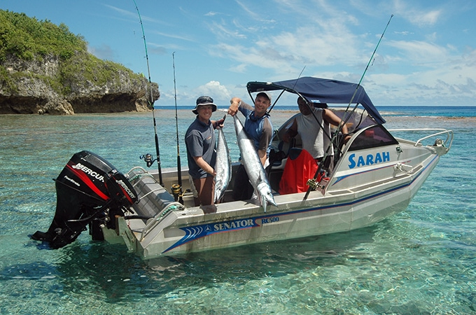 Discover a fisherman's (and fisherwoman's) heaven in Niue