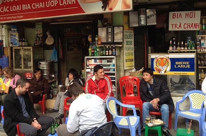 Beer Corner, Old Quarter Hanoi