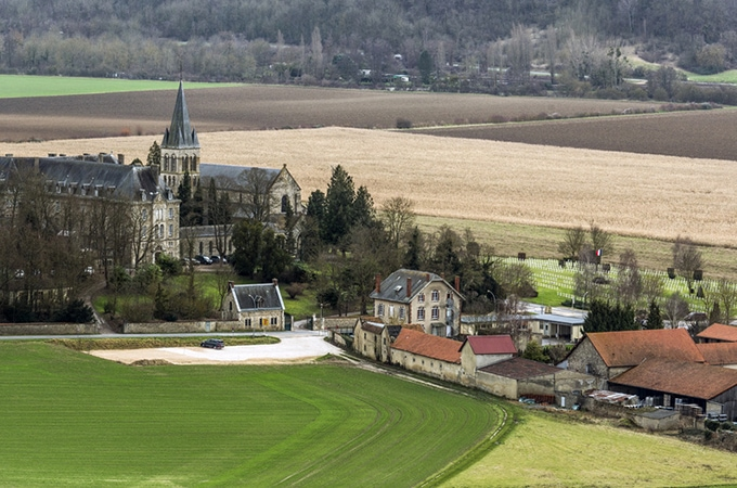 The scenic Champagne region is well worth a visit