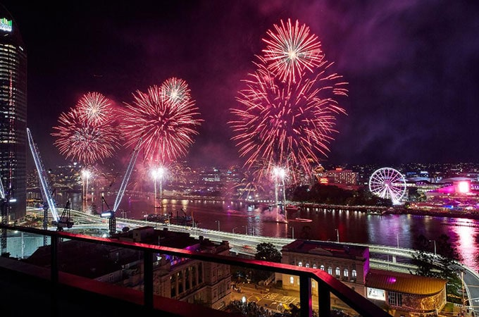 Looking for your next Brisbane fireworks vantage point? See the freshly reimagined Adina Brisbane