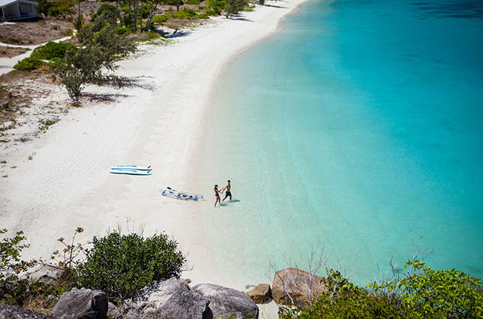 A natural paradise for couples, the Great Barrier Reef's northernmost island resort is simply sublime. Photo: Lizard Island