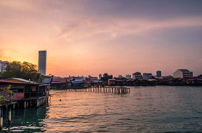 Find foodie heaven and gorgeous scenery in Penang