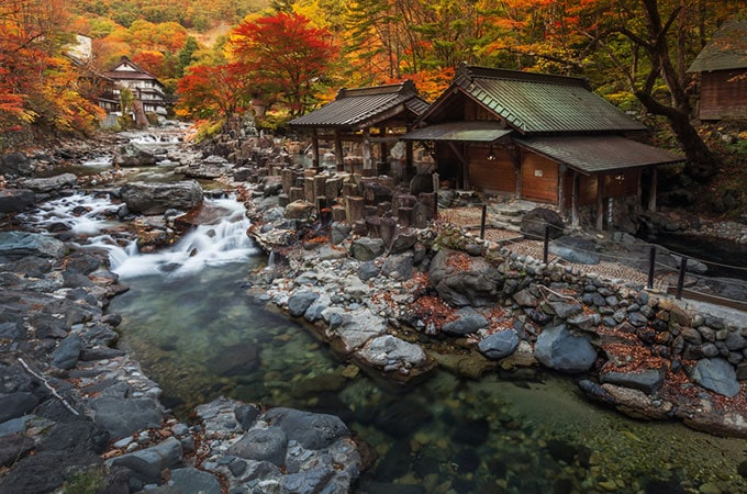 Treat yourselves and indulge in a night in traditional Japanese accommodation