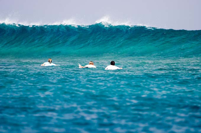 Hit the waves in the Maldives for a fun-filled holiday