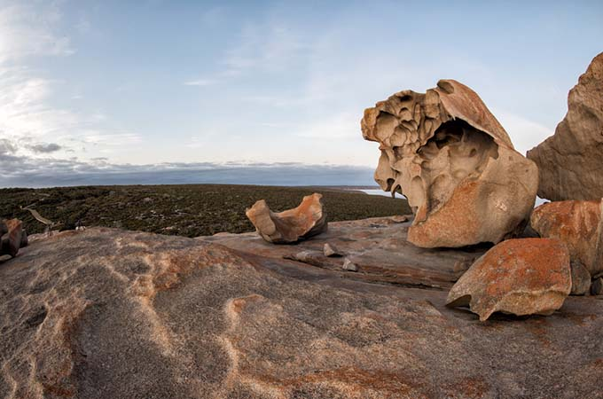 Remarkable Rocks in South Kangaroo Island