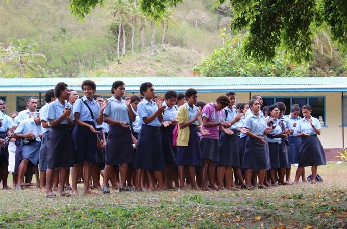 School and Village visit