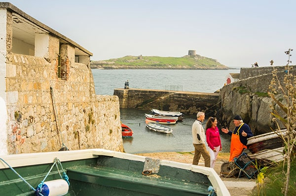 Meet the makers at Ireland's new Taste the Island autumn event. Photo: Colliemore Harbour Dalkey, South Dublin.