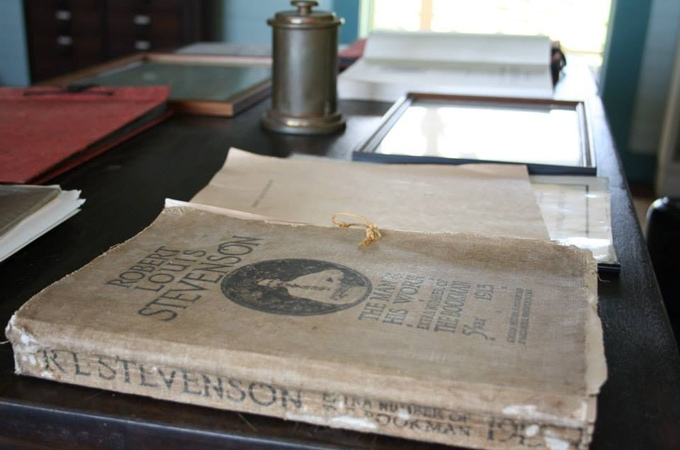 Visit the Robert Louis Stevenson museum