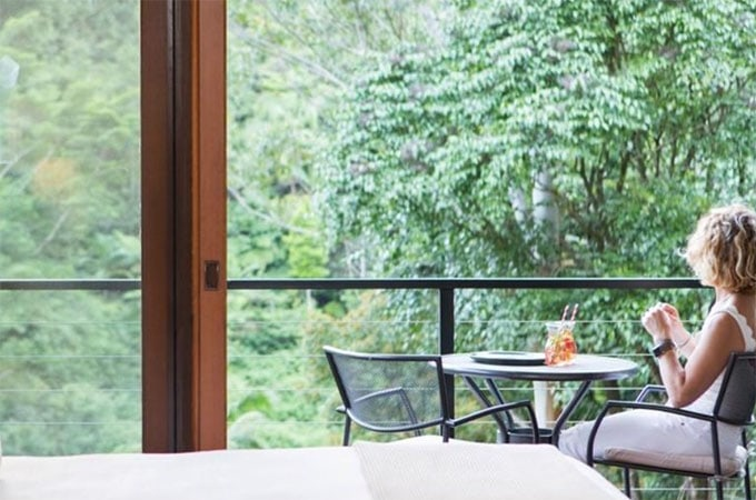 We could get used to this view (in about two seconds flat). The Valley View Deluxe Suites offer a private sanctuary for couples