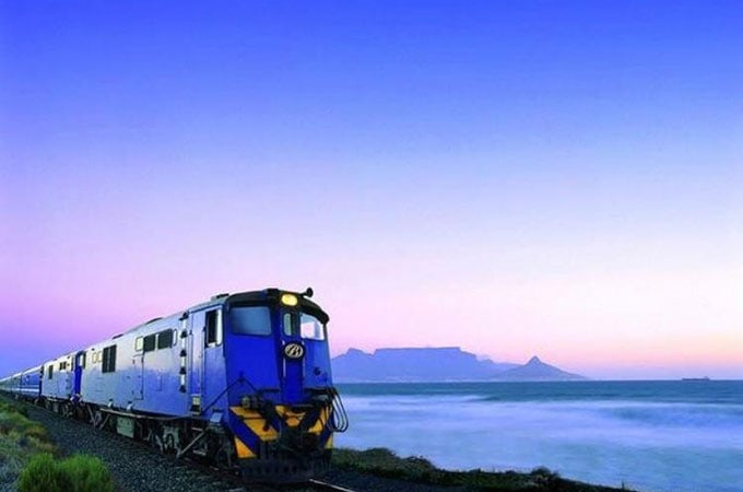 The Blue Train captures the luxury of yesteryear in its on-rail experience